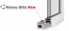 Окно REHAU BLITZ 1300х1400 мм (П/О+П/О - СП2)+2 0