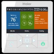 Пульт управления Haier Проводной пульт YR-E16B (цветной дисплей)