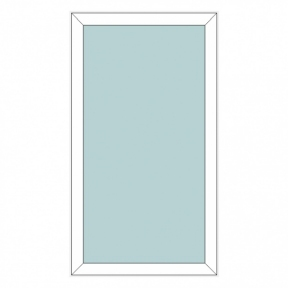 Окно REHAU BLITZ 850х1250(дер) мм (Г - СП2)+1