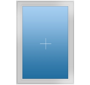 Окно REHAU GRAZIO 850х1250(дер) мм (Г - СП2)+1