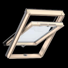 VELUX OPTIMA - Мансардные окна, ручка снизу GZR 3050B MR08 (78x140)